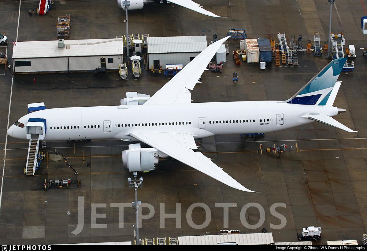 N1789B - Boeing 787-9 Dreamliner - Boeing Company