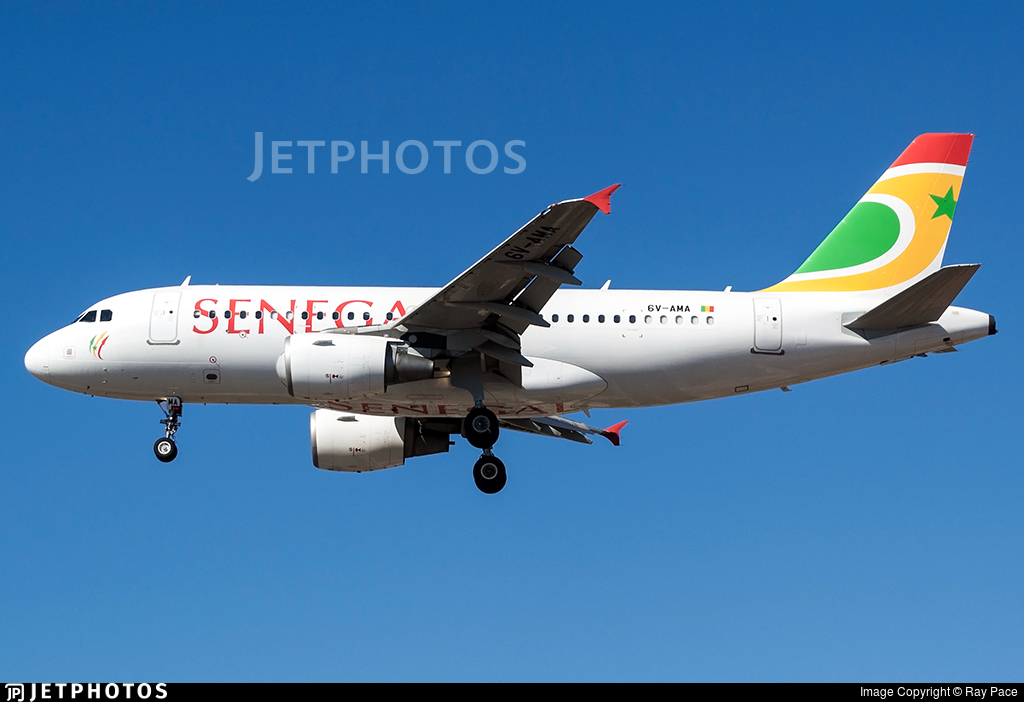 6V-AMA - Airbus A319-111 - Air Senegal