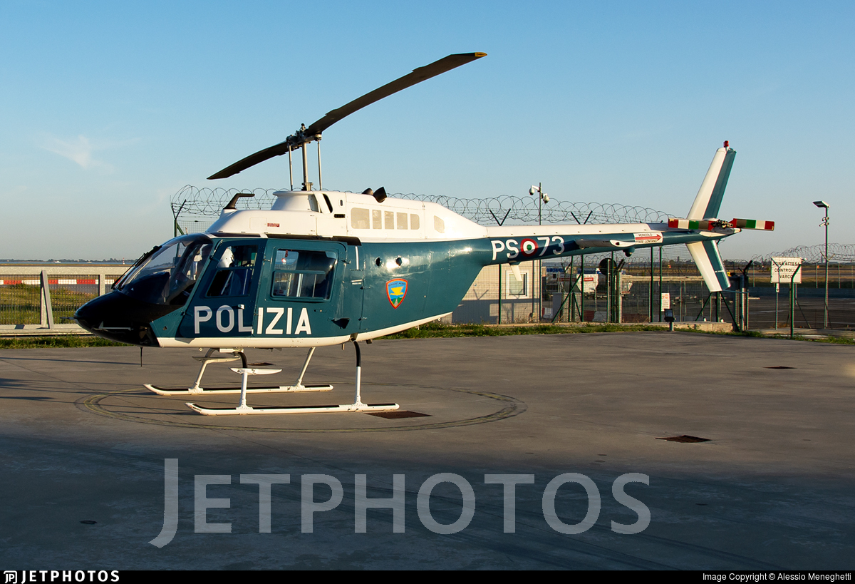 PS-73 - Agusta-Bell AB-206B JetRanger III - Italy - Polizia di Stato