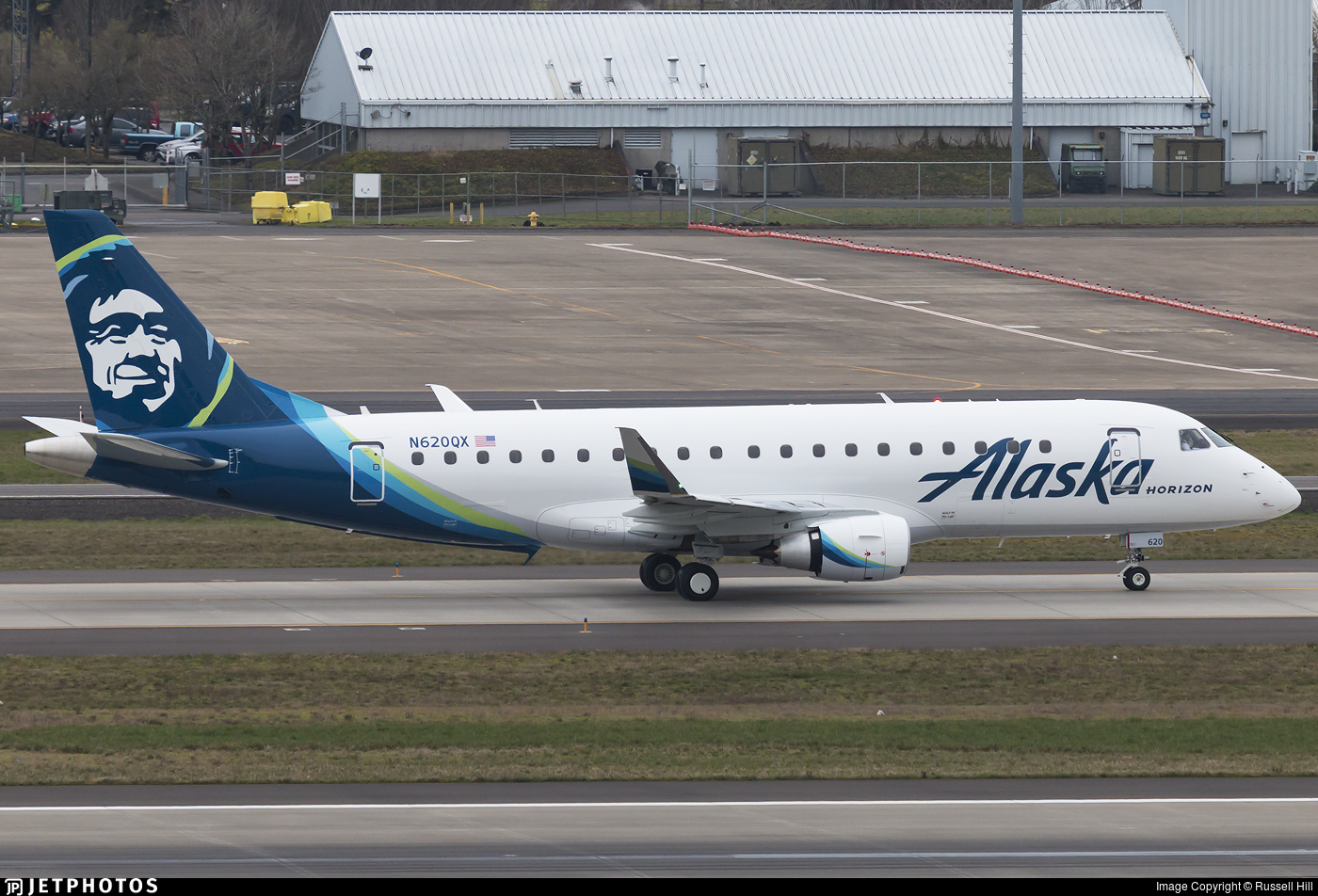 N620QX - Embraer 170-200LR - Alaska Airlines (Horizon Air)