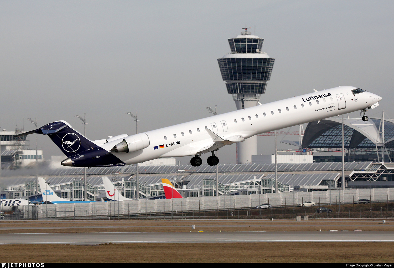 D-ACNB - Bombardier CRJ-900LR - Lufthansa CityLine