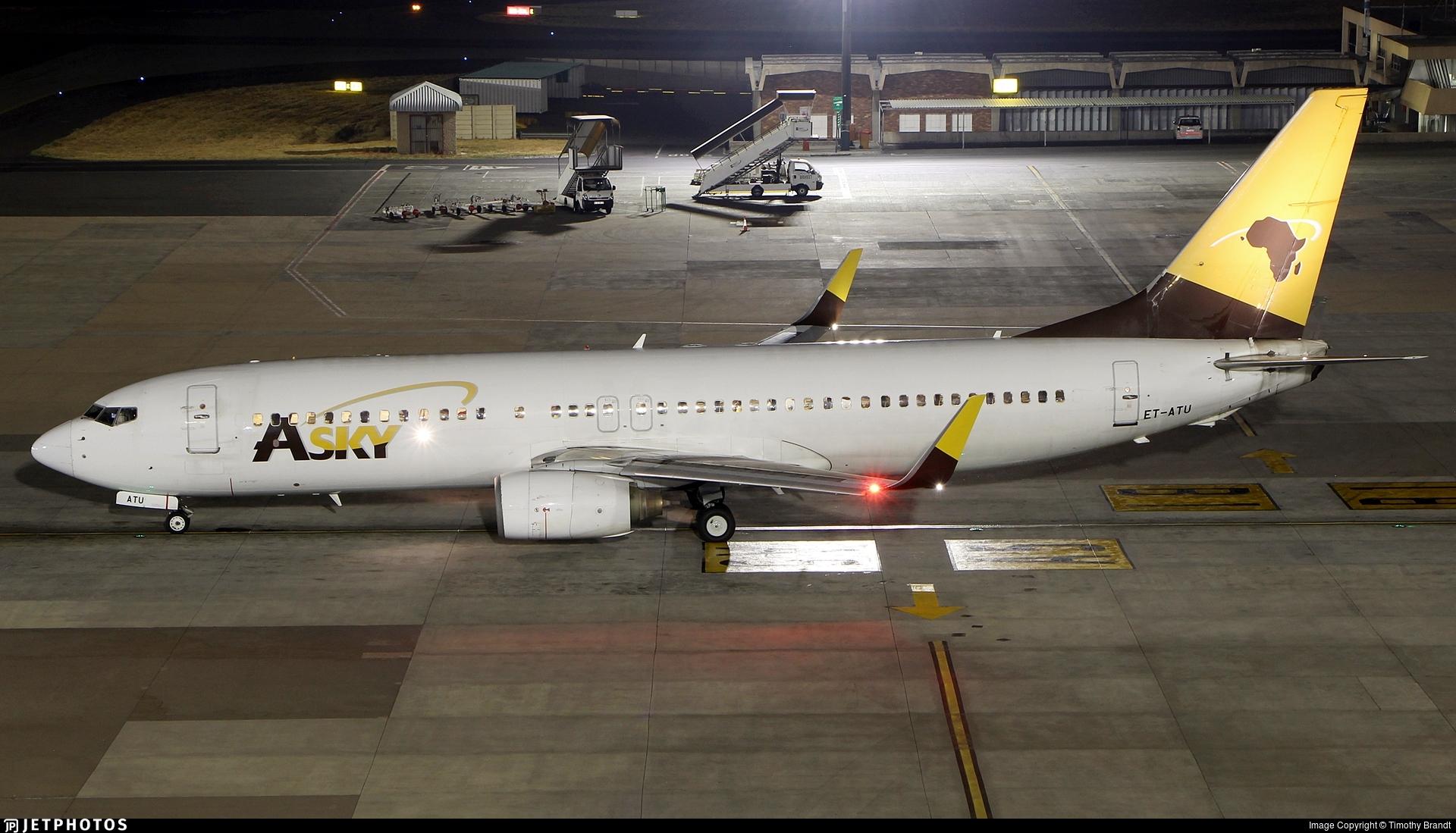 ET-ATU - Boeing 737-8Q8 - ASky Airlines