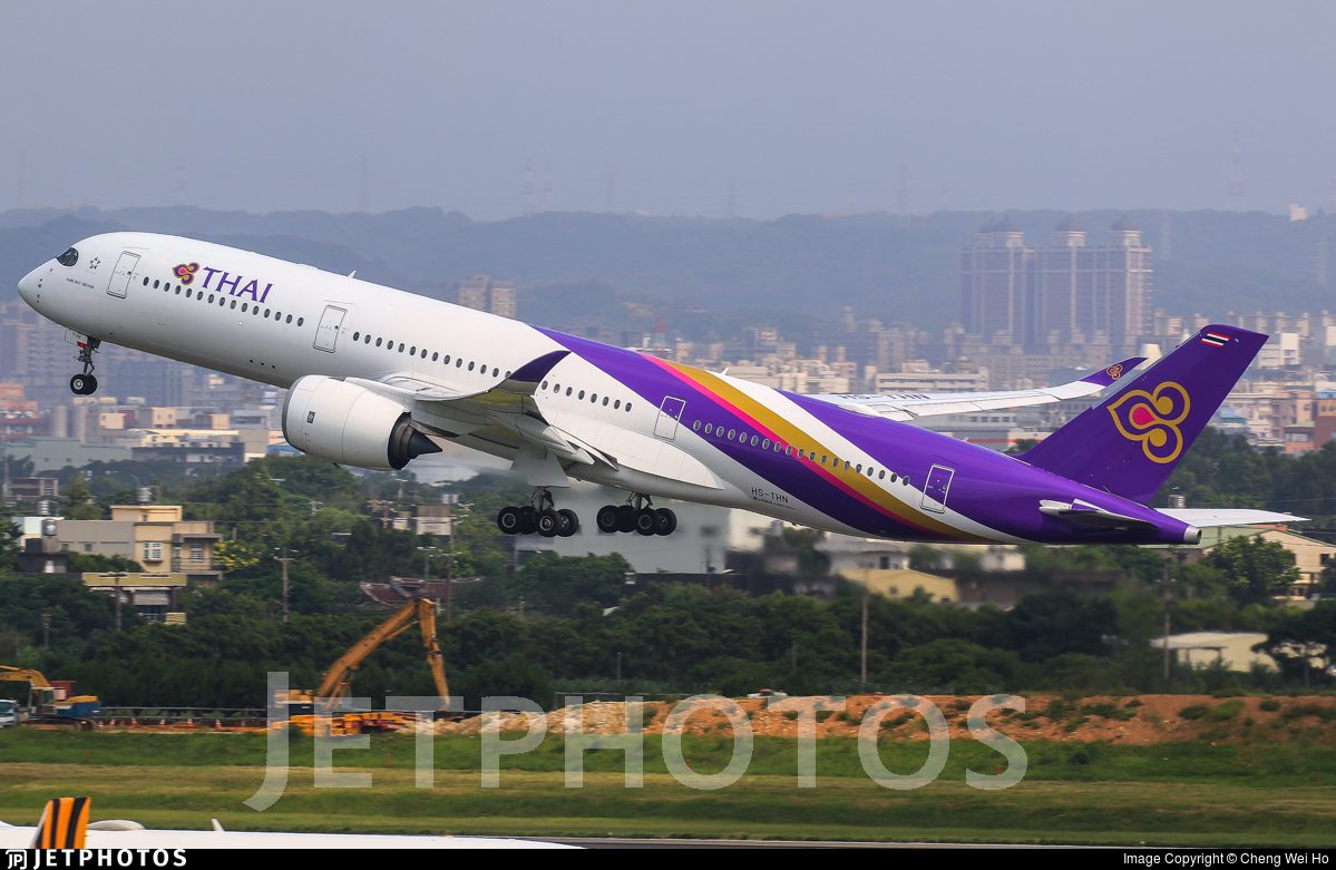 HS-THN - Airbus A350-941 - Thai Airways International