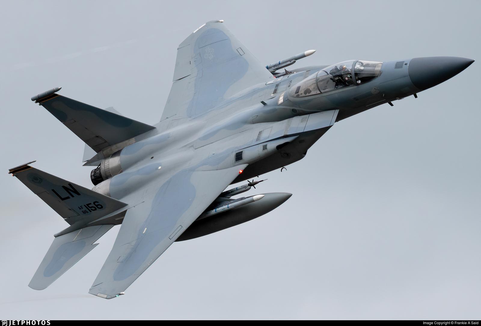 86-0156 - McDonnell Douglas F-15C Eagle - United States - US Air Force (USAF)