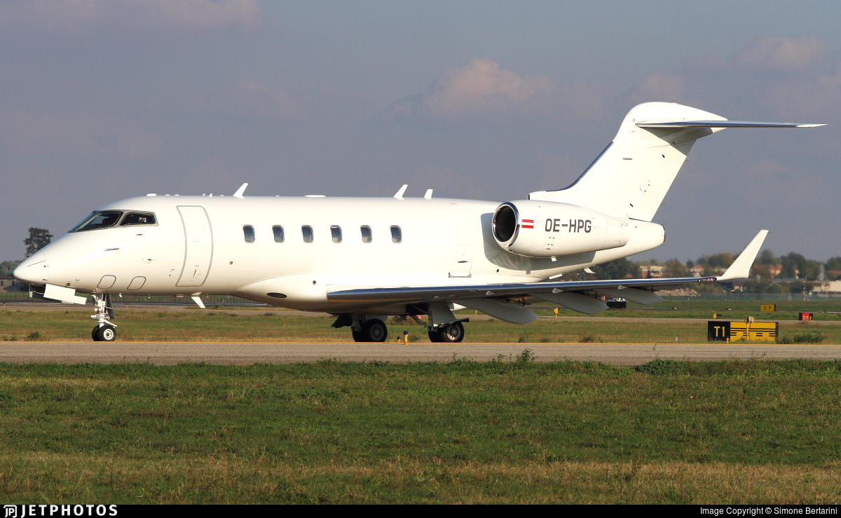 OE-HPG - Bombardier BD-100-1A10 Challenger 300 - Amira Air