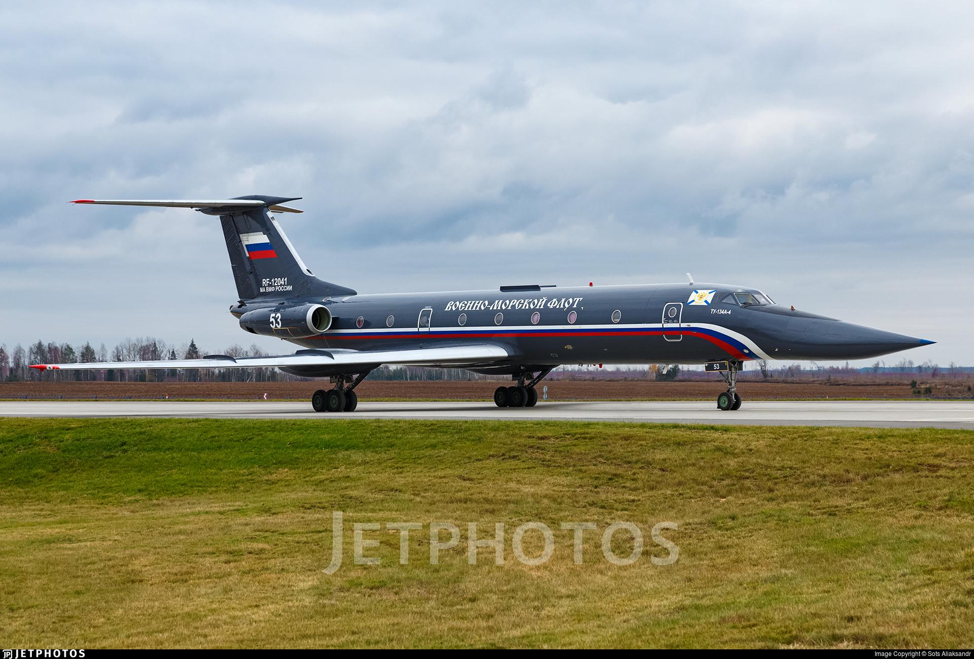 RF-12041 - Tupolev Tu-134A-4 - Russia - Navy
