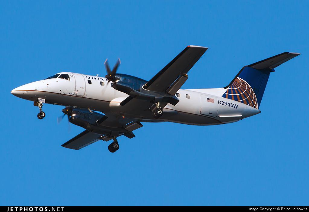 N294SW - Embraer EMB-120ER Brasília - United Express (SkyWest Airlines)