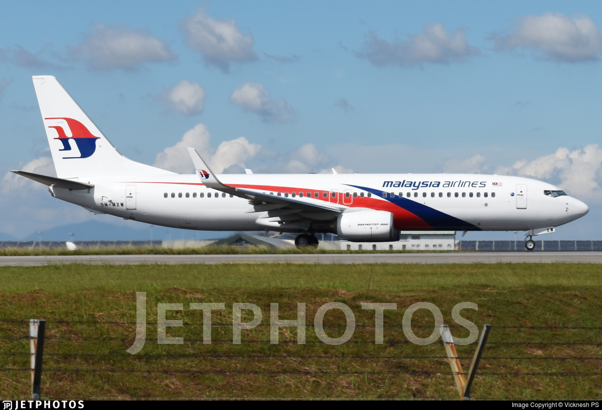 9M-MXW - Boeing 737-8H6 - Malaysia Airlines