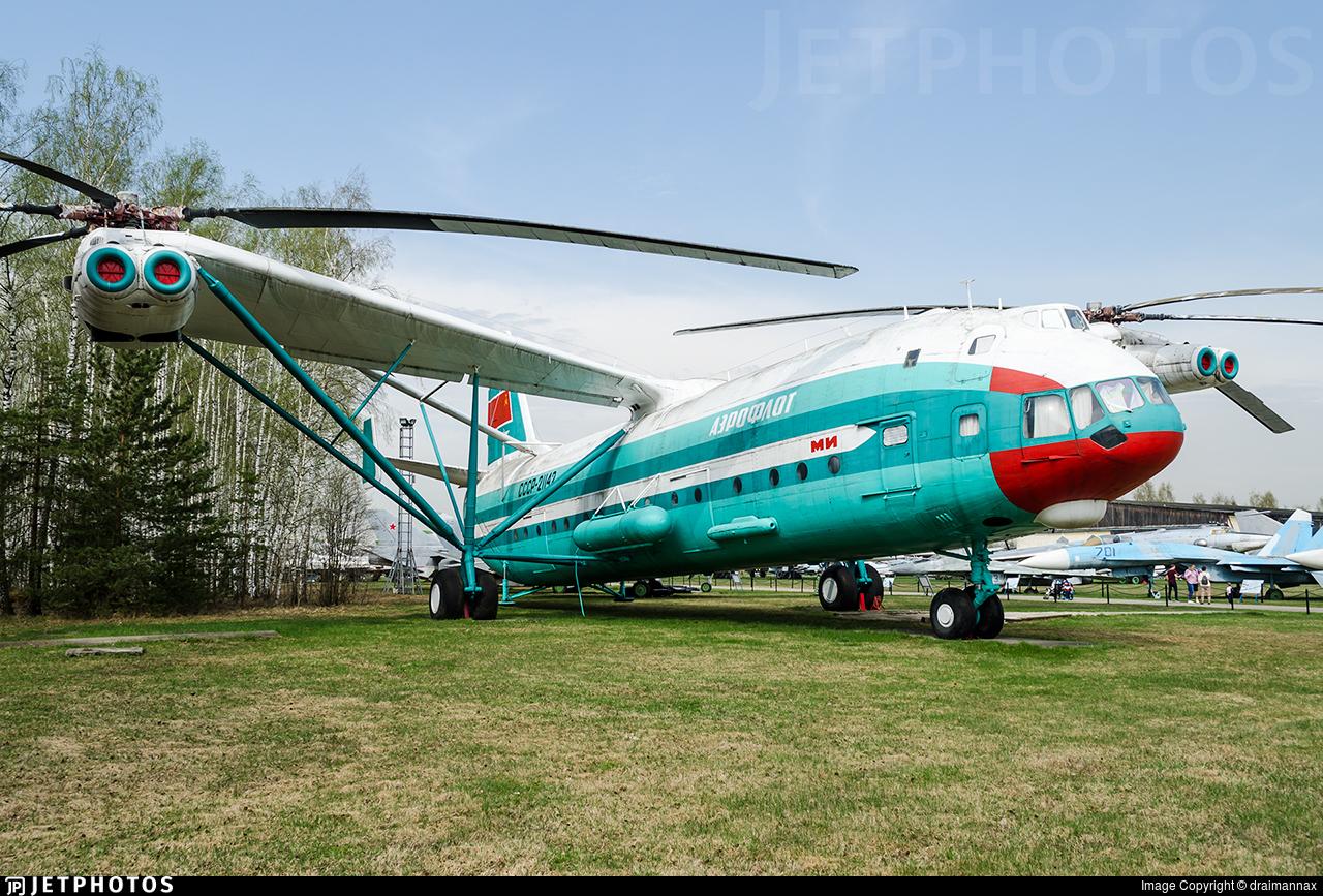 CCCP-21142 - Mil V-12 Homer - Mil Design Bureau (Moscow Helicopter Plant)