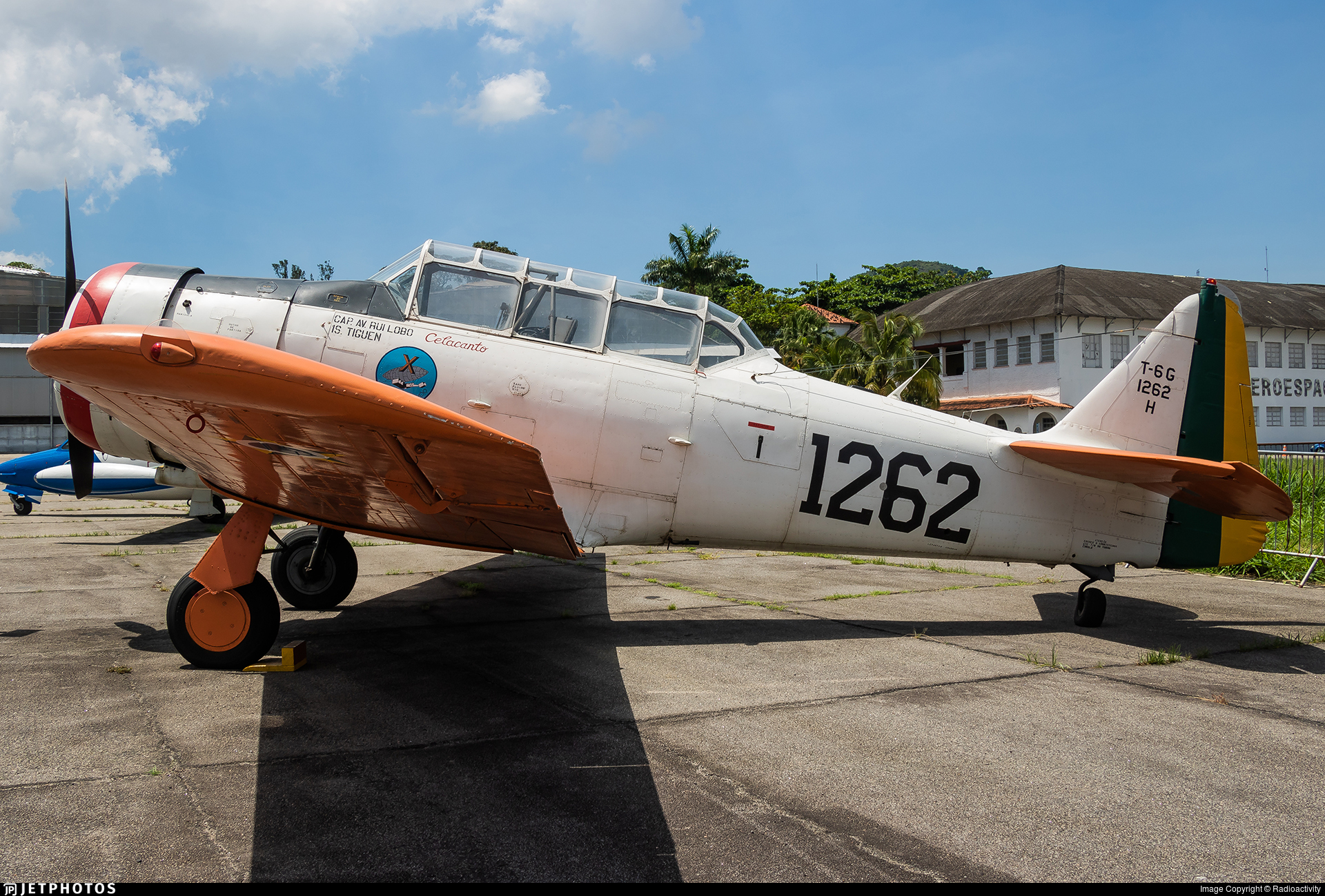 FAB1262 - North American AT-6D Texan - Brazil - Air Force
