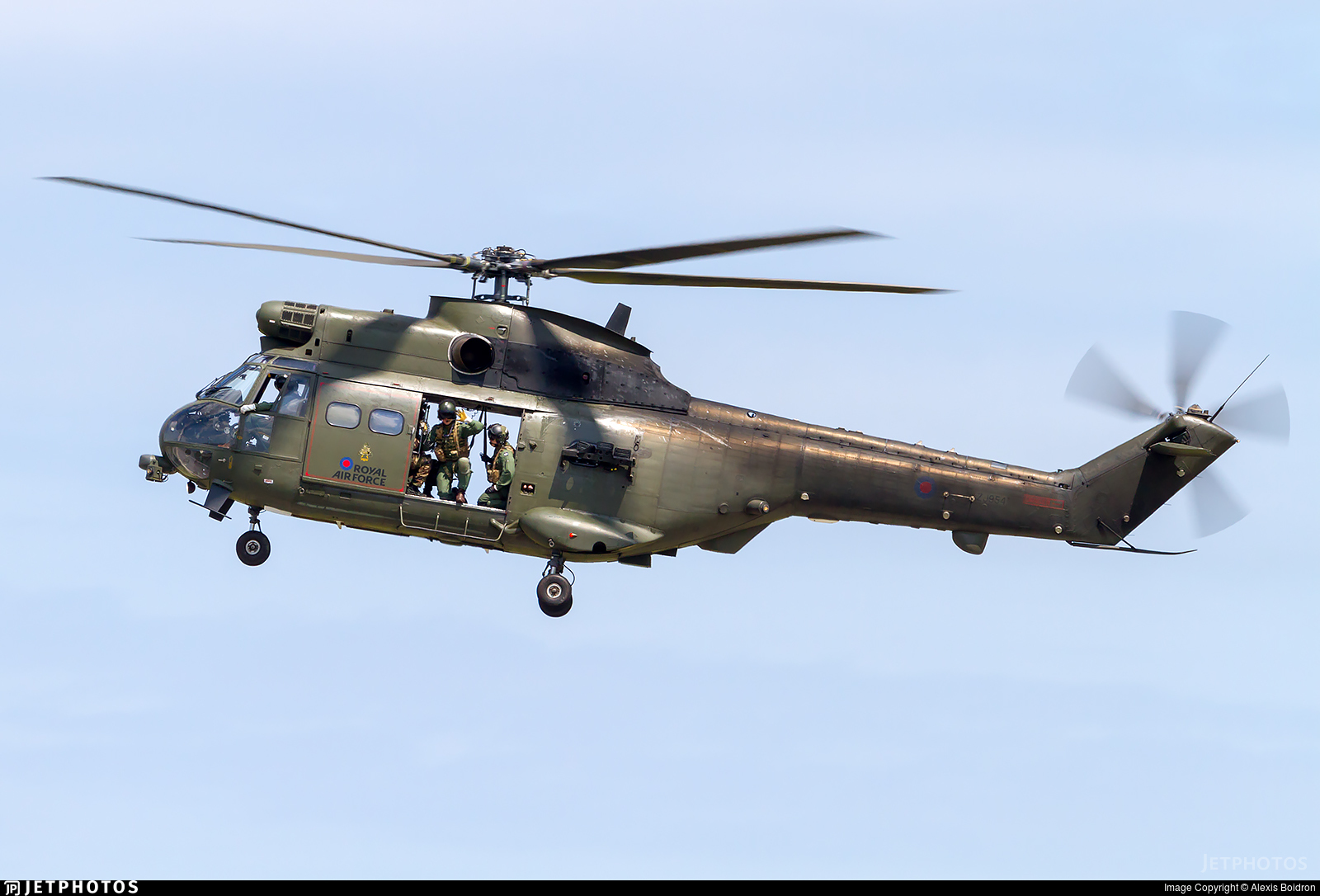 ZJ954 - Westland Puma HC.1 - United Kingdom - Royal Air Force (RAF)
