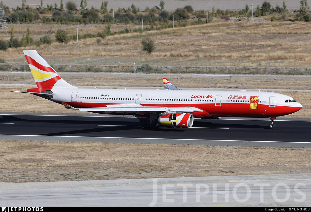 B-1014 - Airbus A330-343 - Lucky Air