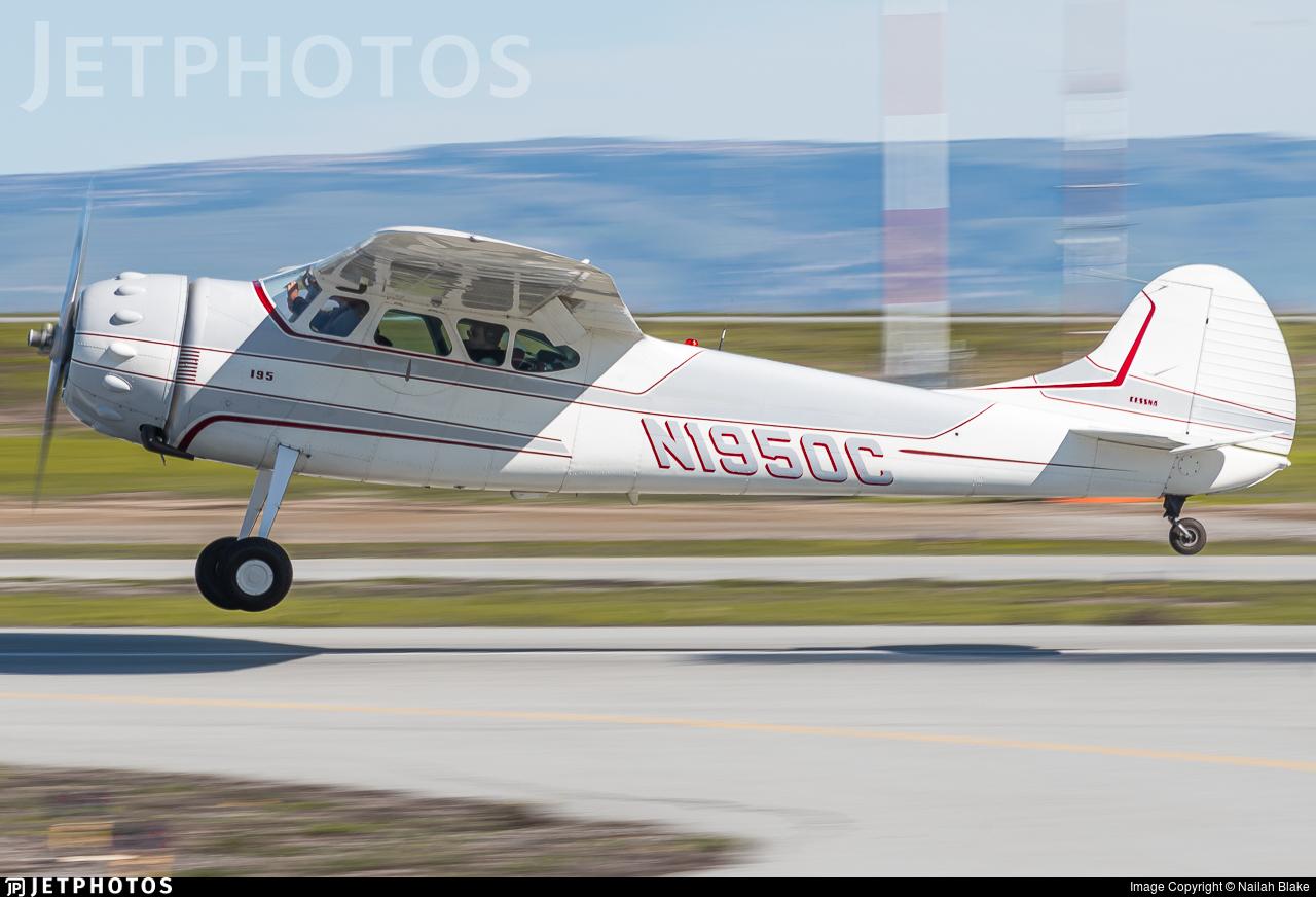 N1950C - Cessna 195B - Private