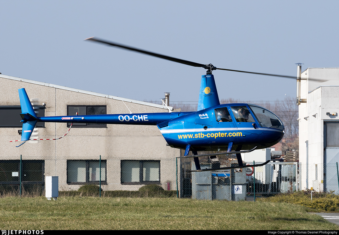 OO-CHE - Robinson R44 Raven II - STB-copter