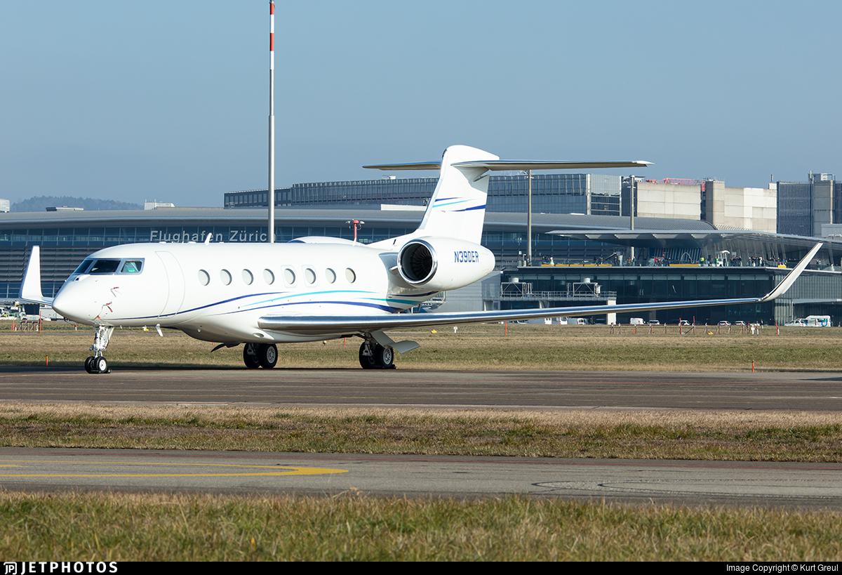 N390ER - Gulfstream G650ER - Private