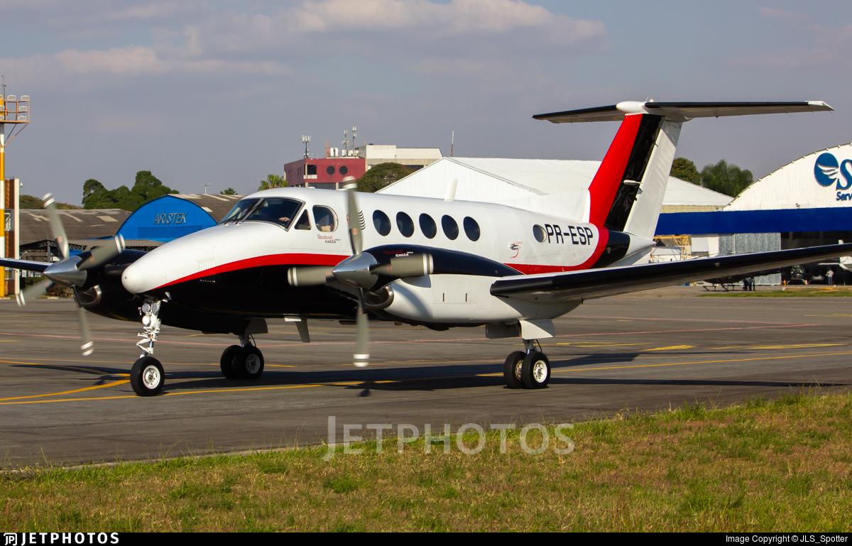 PR-ESP - Beechcraft B200GT Super King Air - Brazil - Government of Sao Paulo State