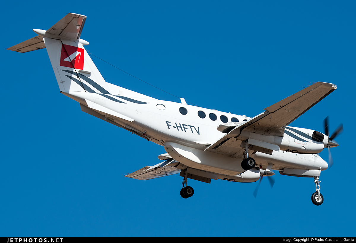 F-HFTV - Beechcraft 200 Super King Air - Aero Sotravia