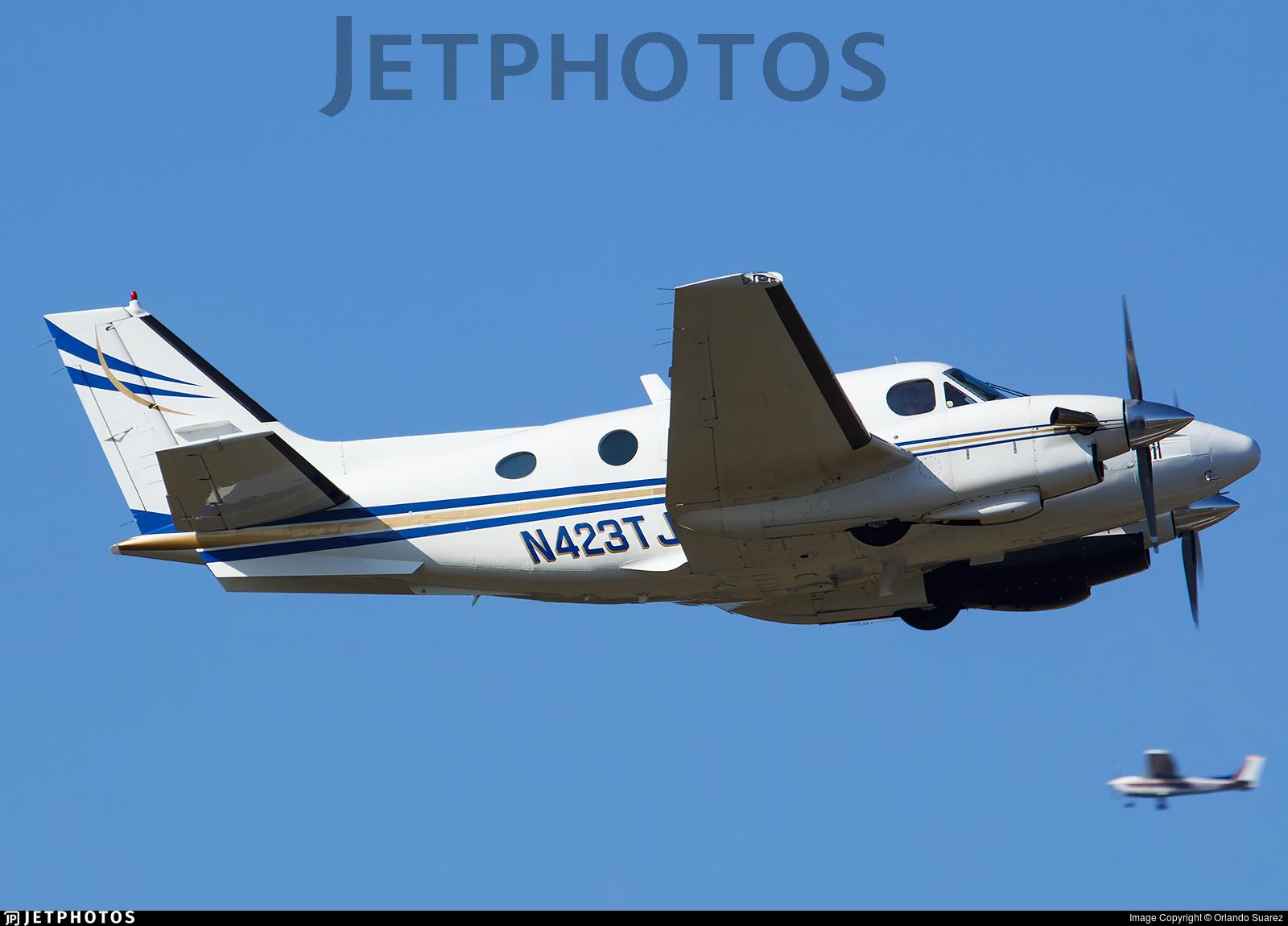 N423TJ - Beechcraft C90 King Air - Private