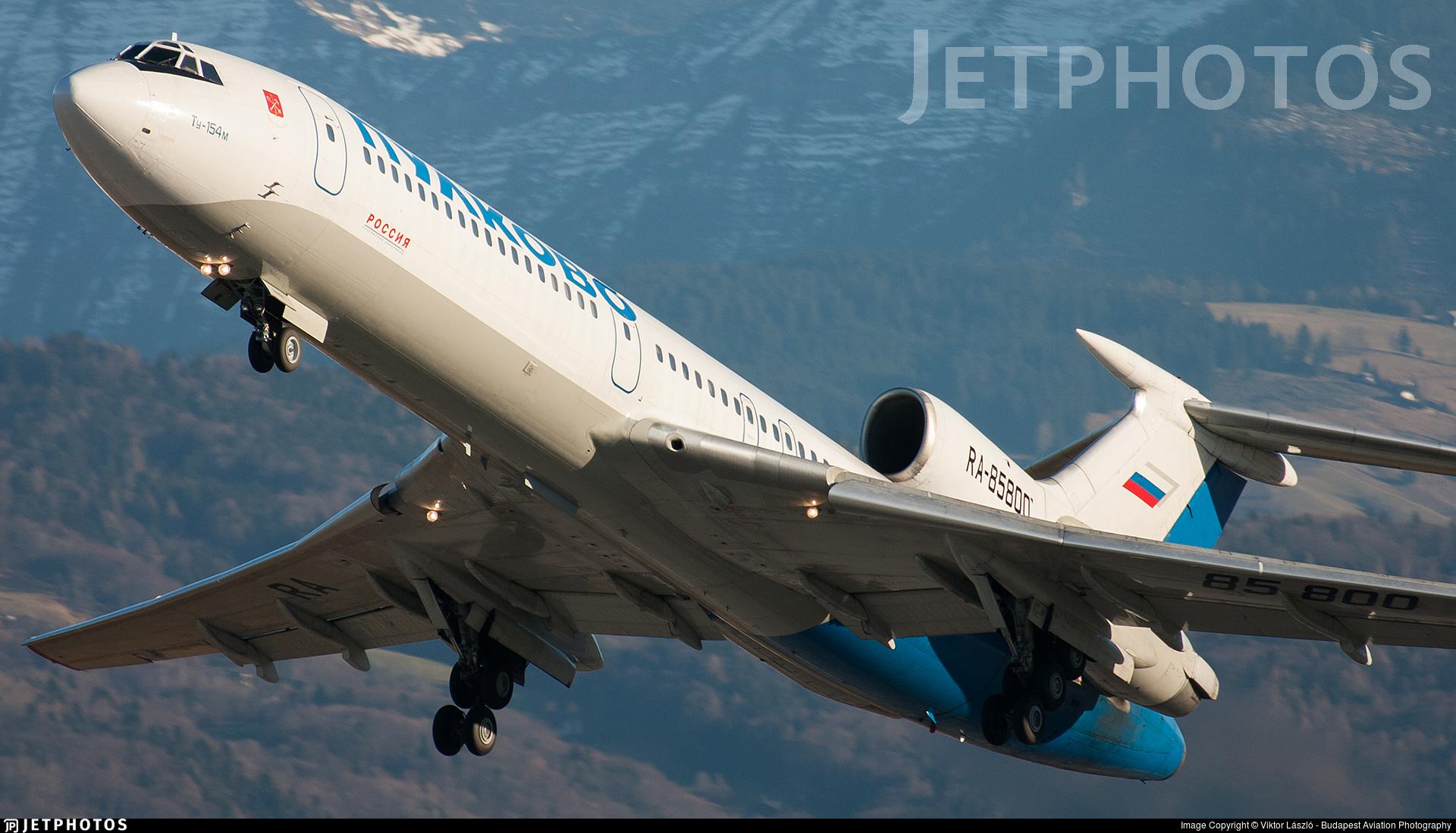RA-85800 - Tupolev Tu-154M - Pulkovo Aviation Enterprise