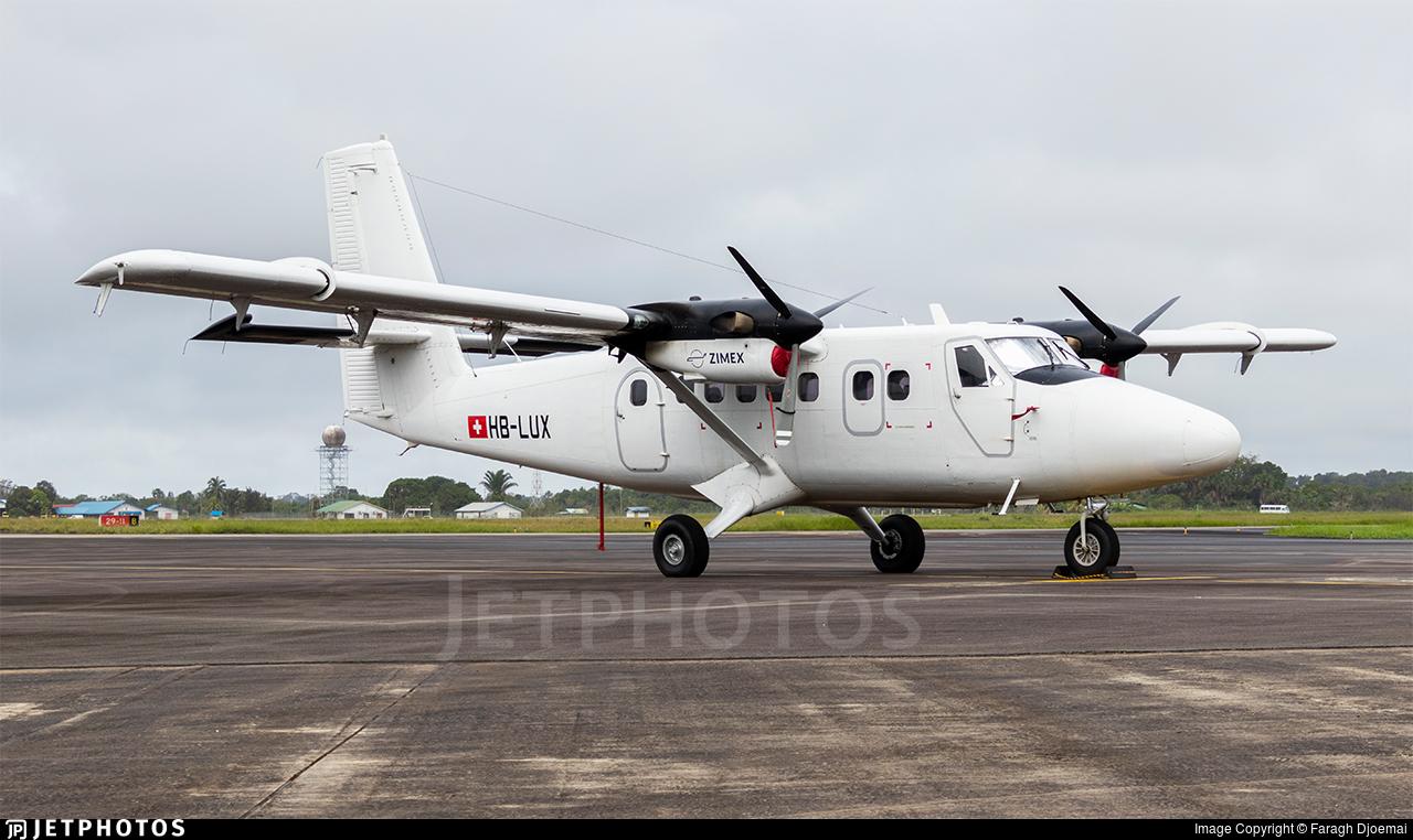 HB-LUX - Viking DHC-6-400 Twin Otter - Zimex Aviation