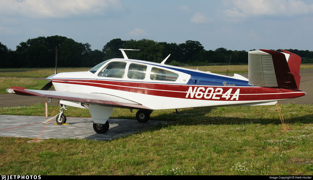 N6024A - Beechcraft V35B Bonanza - Private