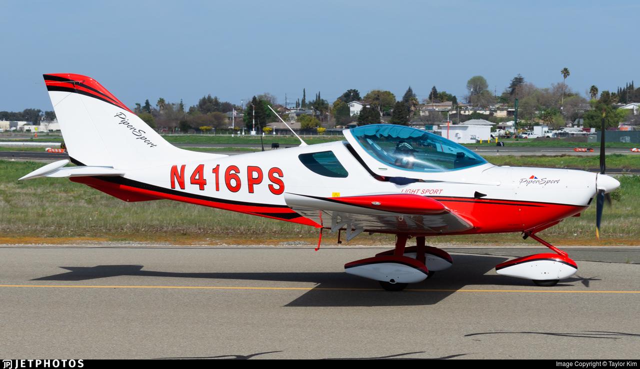 N416PS - Piper Sport P-100 - Private