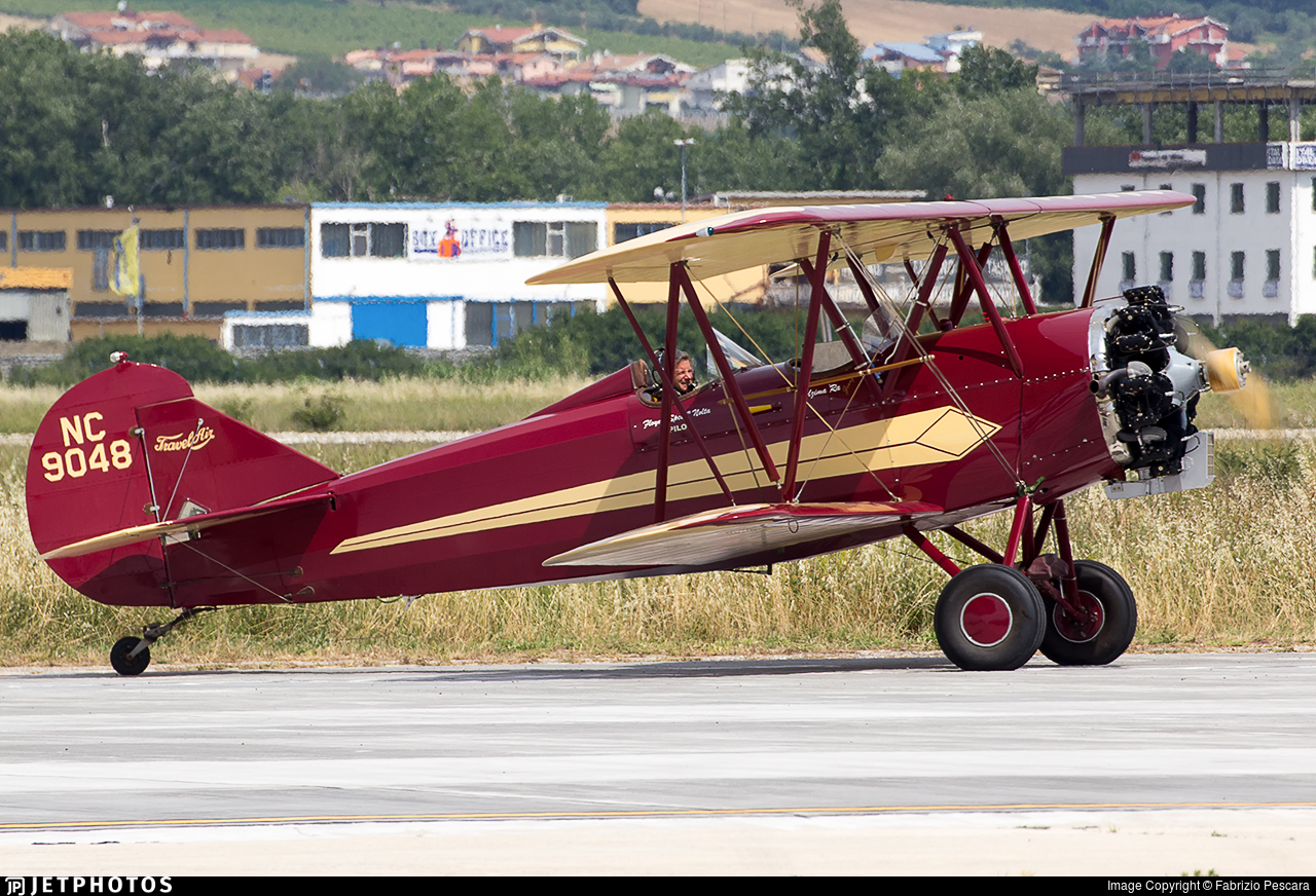 NC9048 - Curtiss-Wright Travel Air 4000 - Private