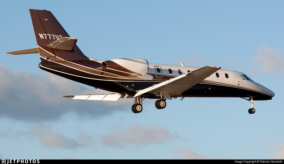 N777UT - Cessna 680 Citation Sovereign - Private