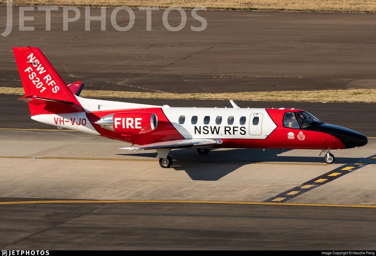 VH-VJO - Cessna 560 Citation Encore - NSW Rural Fire Service
