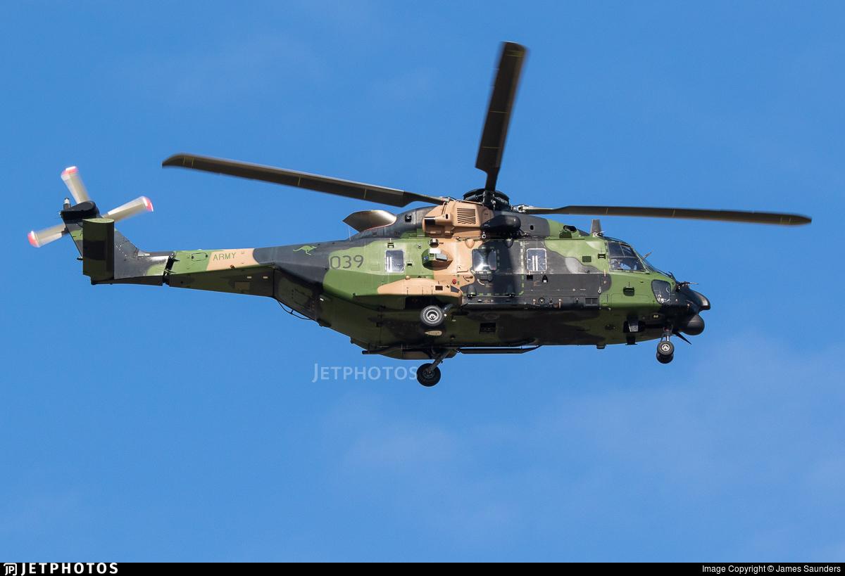 A40-039 - NH Industries MRH-90 - Australia - Army