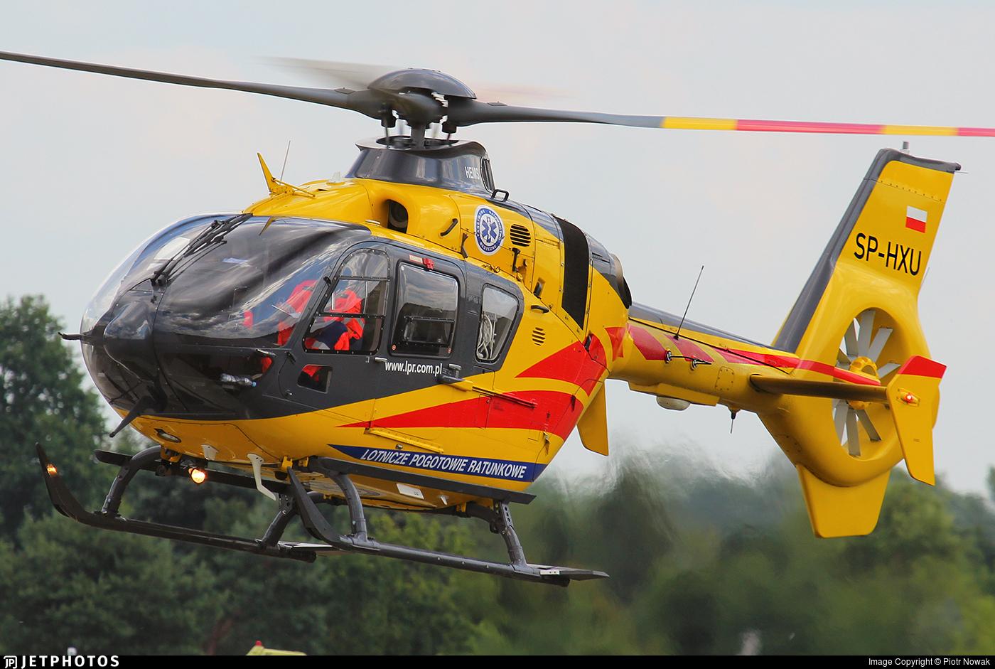 SP-HXU - Eurocopter EC 135P2+ - Lotnicze Pogotowie Ratunkowe