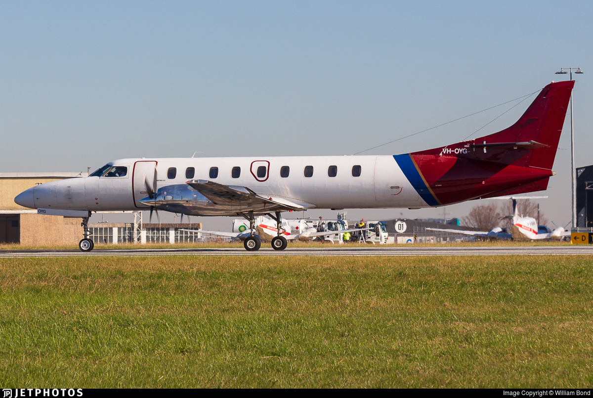 VH-OYG - Fairchild SA227-DC Metro 23 - Sharp Airlines