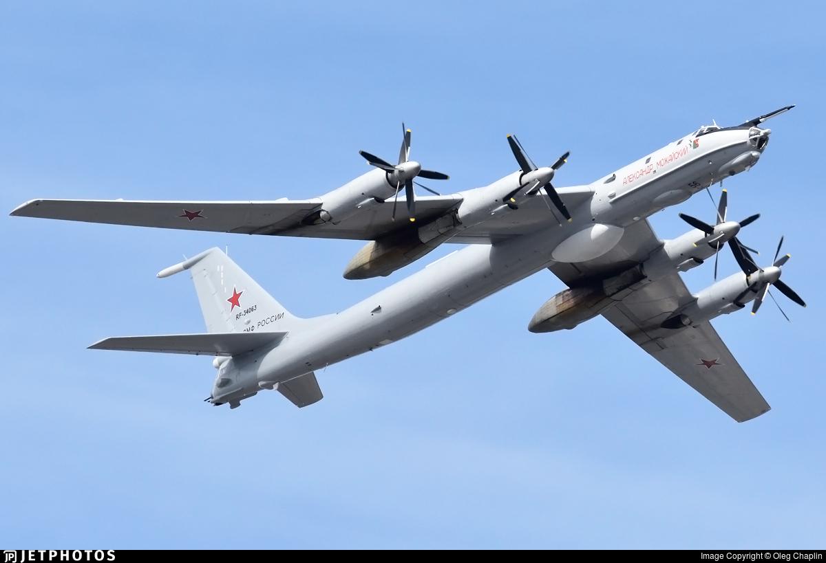 RF-34063 - Tupolev Tu-142MK-E - Russia - Navy