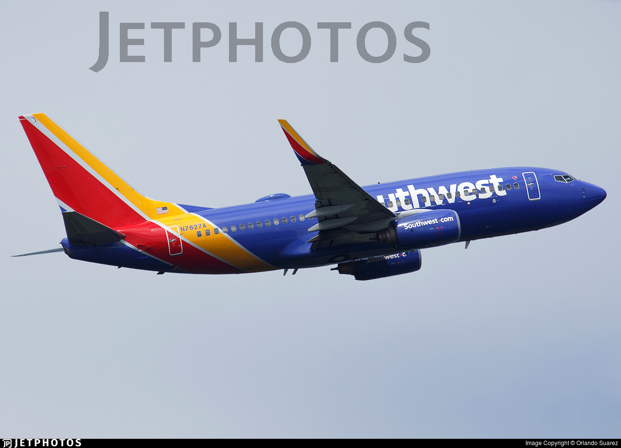 N7827A - Boeing 737-79P - Southwest Airlines