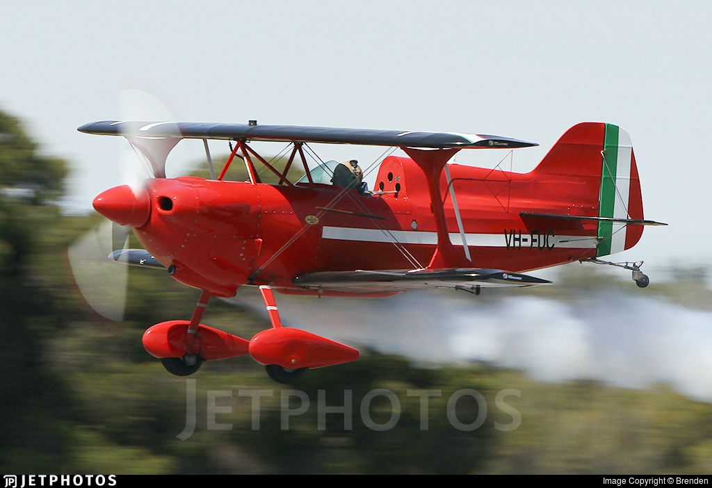 VH-FUC - Pitts S-1D Special - Private