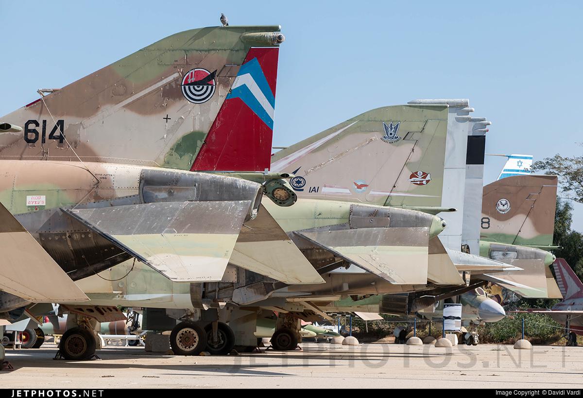 614 - McDonnell Douglas F-4E Kurnass - Israel - Air Force