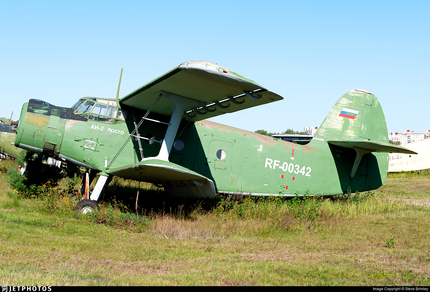 RF-00342 - PZL-Mielec An-2T - Russia - Voluntary Society for Assistance to the Army, Air Force and Navy (DOSAAF)