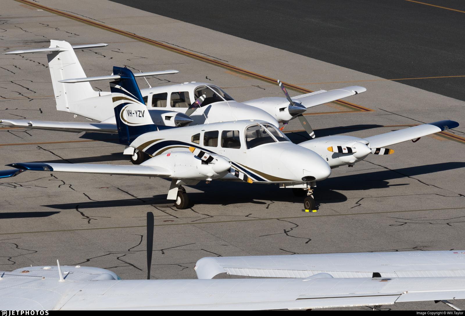 VH-YZV - Piper PA-44-180 Seminole - Airflite