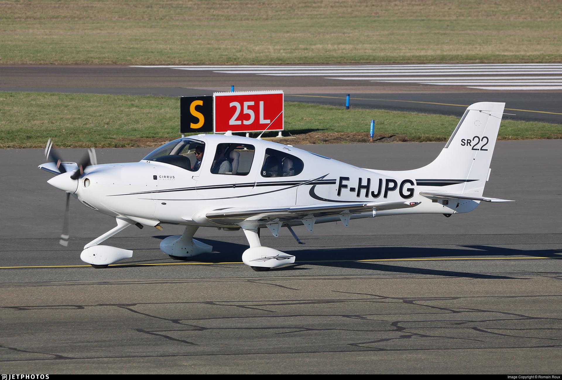 F-HJPG - Cirrus SR22 - Private