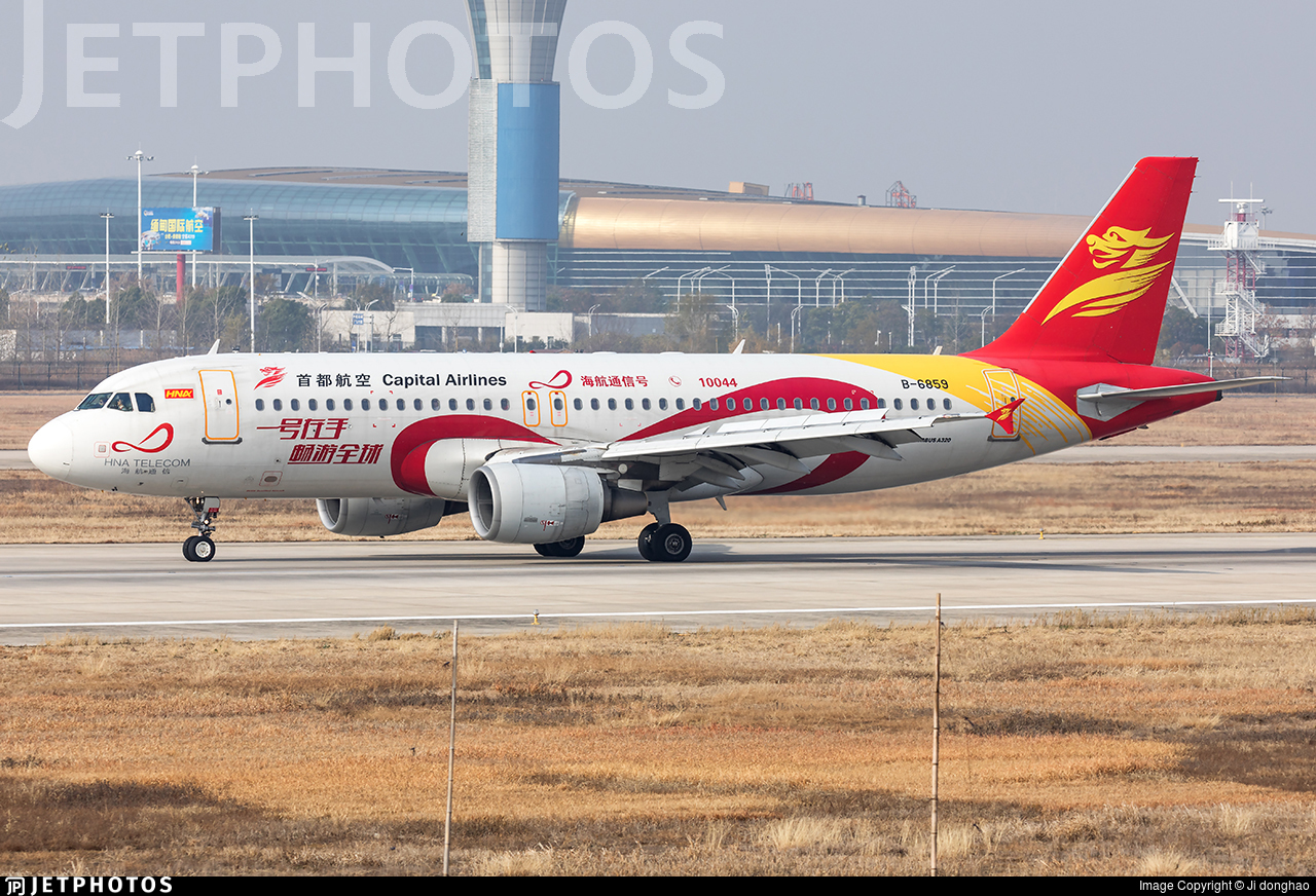 B-6859 - Airbus A320-214 - Capital Airlines