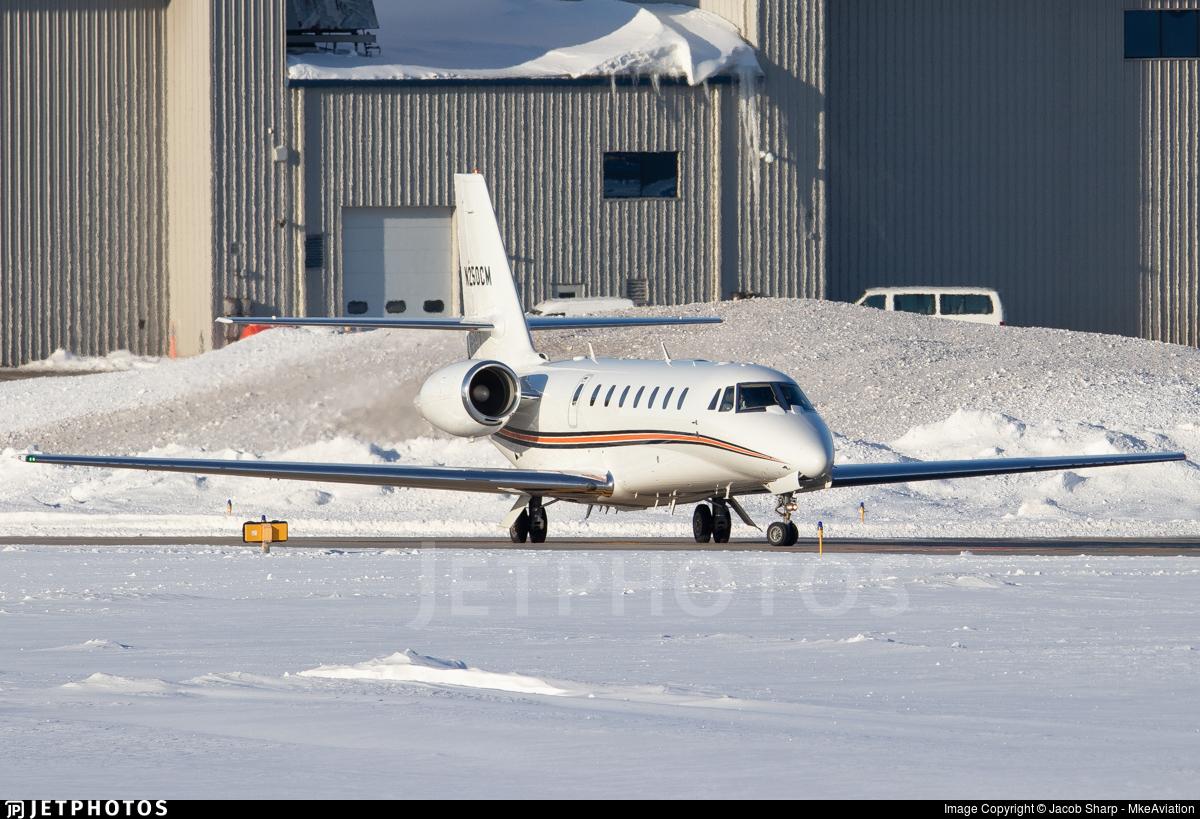 N250CM - Cessna 680 Citation Sovereign - Private