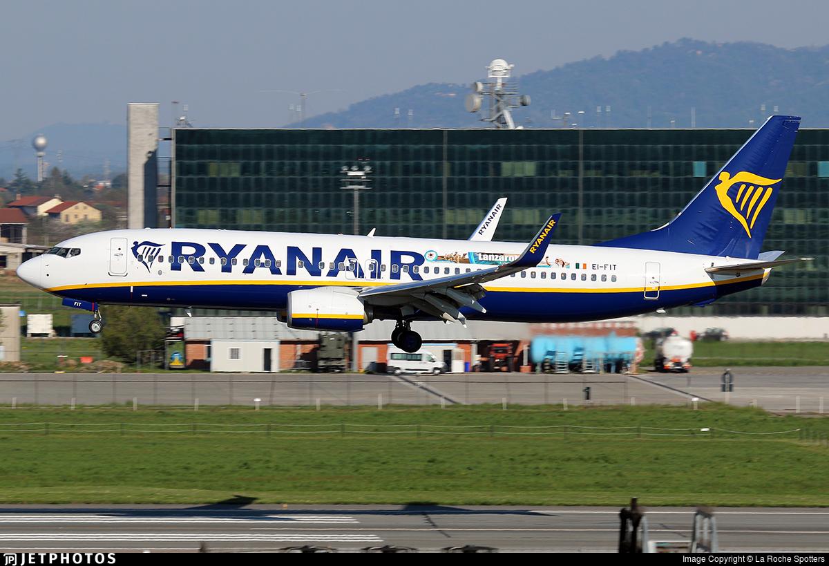 EI-FIT - Boeing 737-8AS - Ryanair