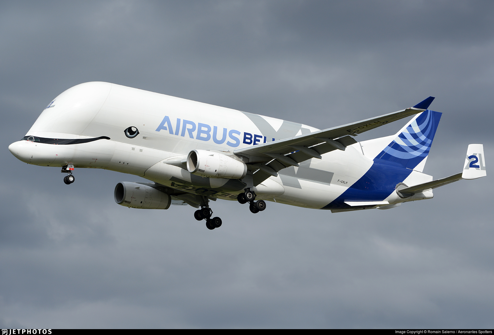 F-GXLH - Airbus A330-743L - Airbus Transport International