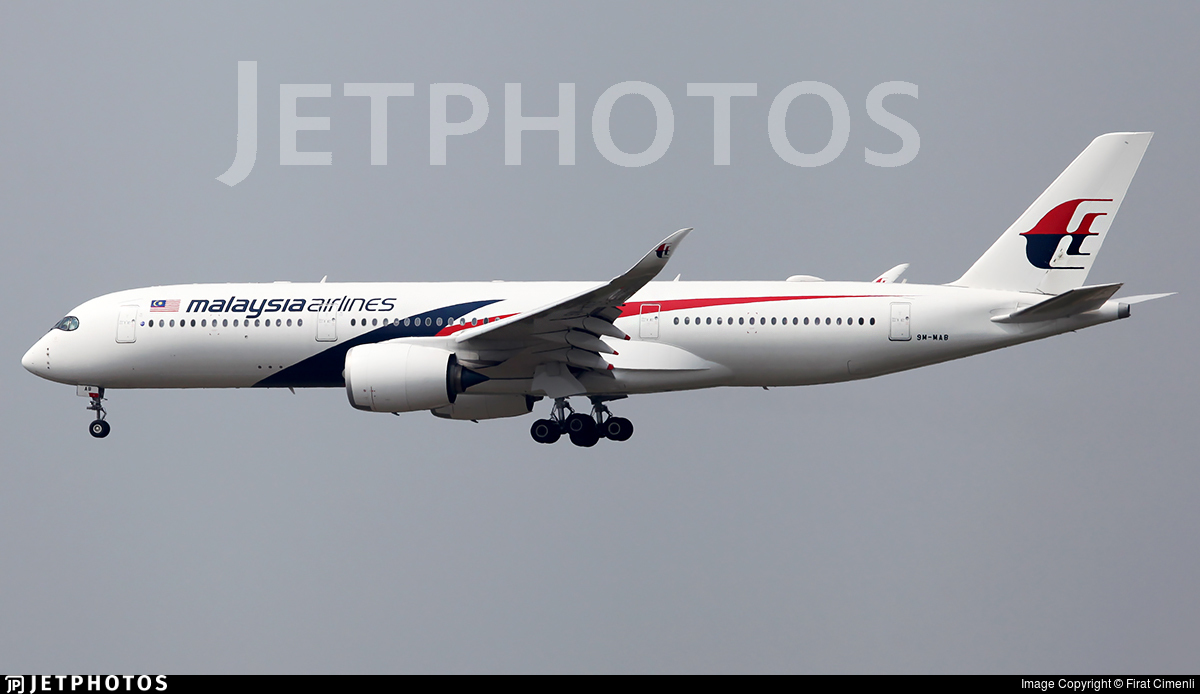 9M-MAB - Airbus A350-941 - Malaysia Airlines