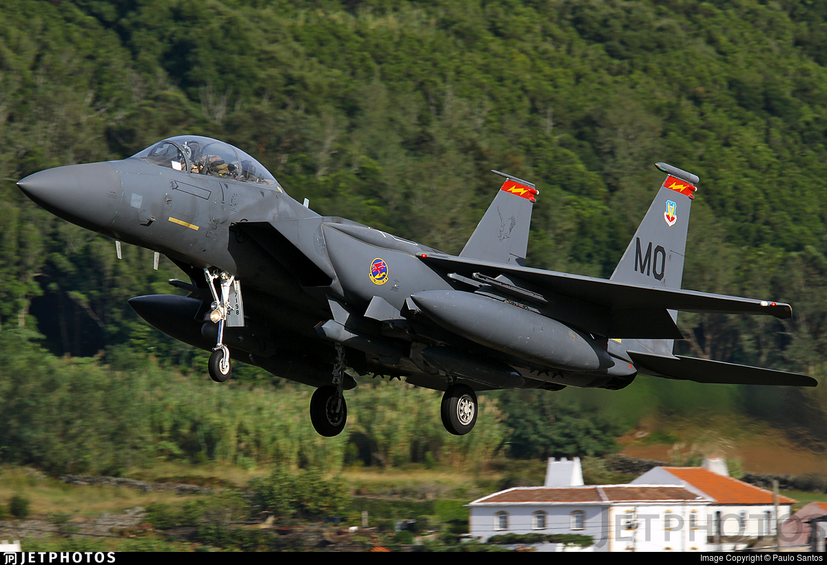 87-0198 - McDonnell Douglas F-15E Strike Eagle - United States - US Air Force (USAF)
