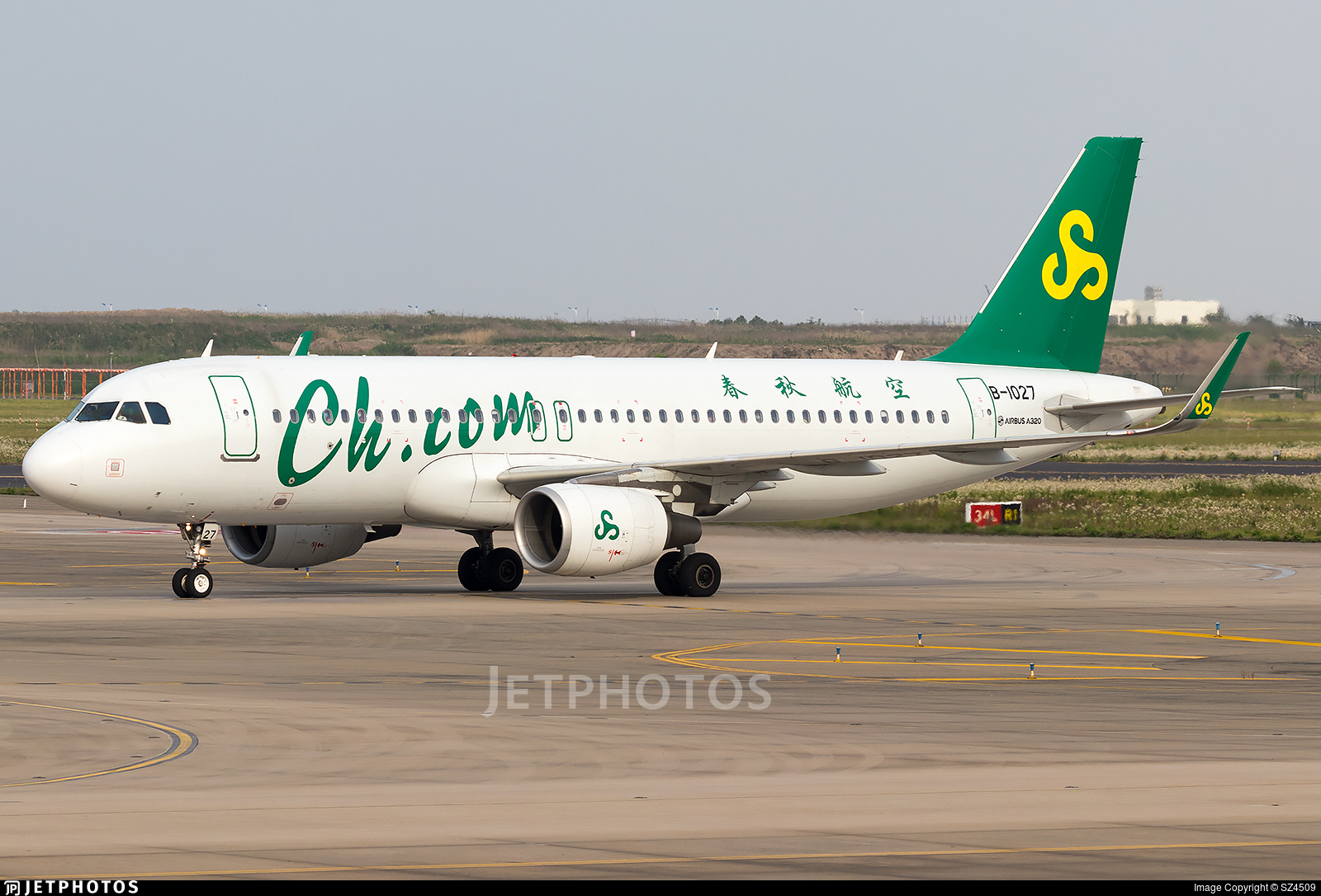 B-1027 - Airbus A320-214 - Spring Airlines