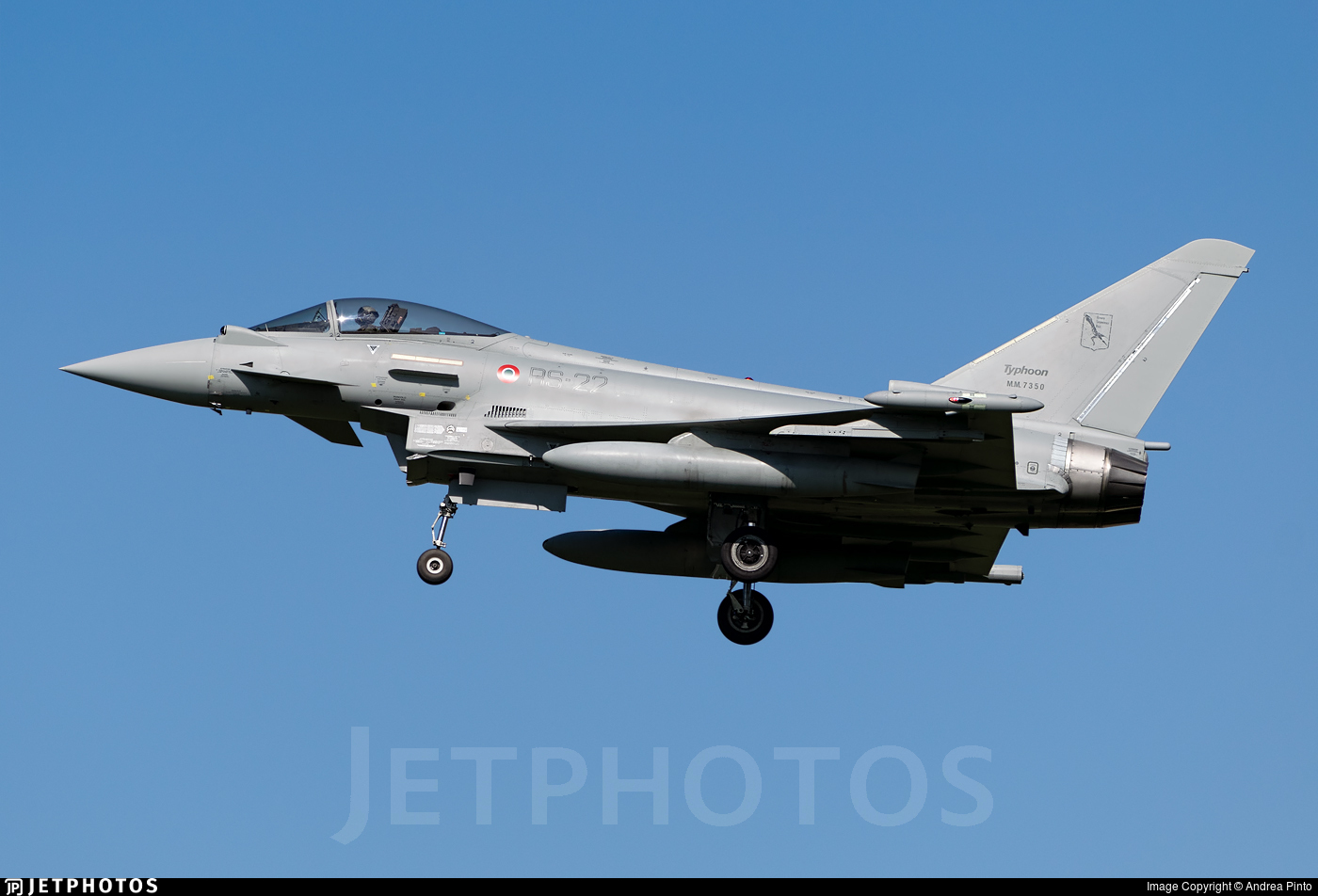 MM7350 - Eurofighter Typhoon EF2000 - Italy - Air Force