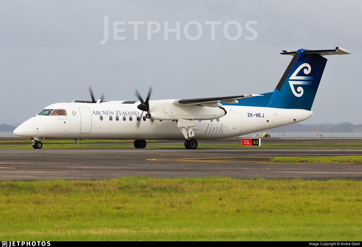 ZK-NEJ - Bombardier Dash 8-Q311 - Air New Zealand Link (Air Nelson)