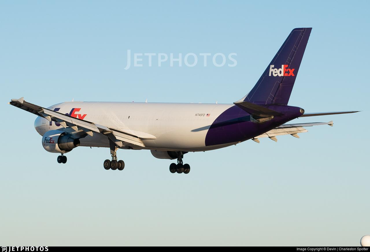 N745FD - Airbus A300B4-622R(F) - FedEx