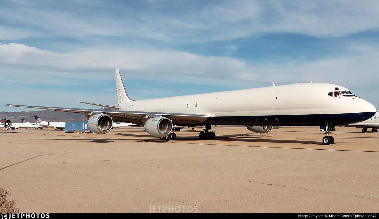 N805SJ - Douglas DC-8-73(AF) - Skybus Jet Cargo